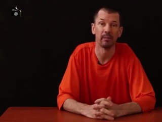 ISIS Video Shows Captive British Journalist John Cantlie
