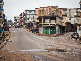 Sierra Leone Begins Three-Day Ebola Lockdown