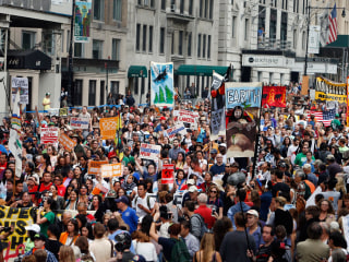 Thousands March for Climate Change Before United Nations Summit