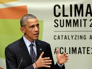 Obama Pledges US Leadership in Combating Climate Change