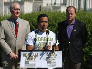 Dreamers Push President to Direct Military to Let Them Serve