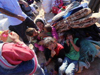 Border Crisis: Refugees Leave Everything Behind to Flee ISIS