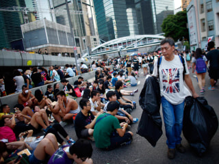 Very Civil Disobedience: Inside Hong Kong's 'Umbrella Revolution'