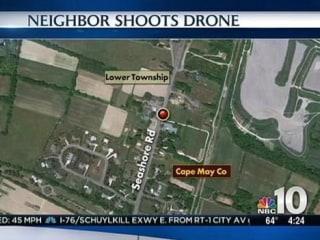New Jersey Man Takes Shotgun to Neighbor's Snooping Drone