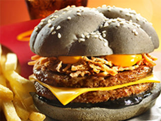 McDonald's Launches Black Burger to Counter BK's