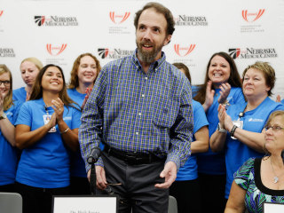 Ebola Survivor Dr. Rick Sacra: I Would Go Back to Liberia