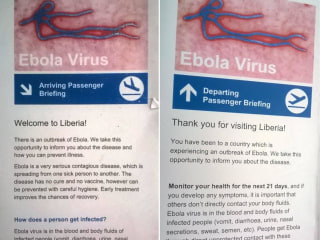 Coming From Liberia? No More Ebola Screening for You