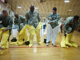 Infection Protection: New CDC Ebola Guidelines Stress Gear Ritual