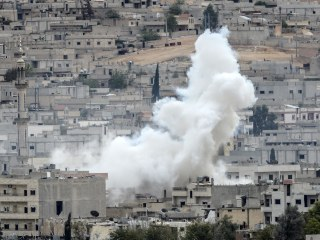 U.S. Drops Weapons to Kurds Defending Kobani