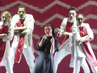 Italy's Singing Nun Cristina Scuccia Covers Madonna's 'Like a Virgin'