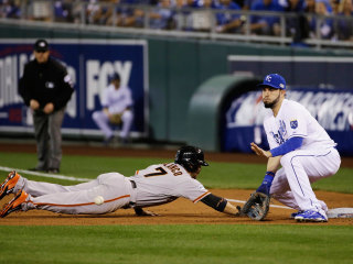 FOLLOW LIVE: San Francisco at Kansas City in Game One of the World Series