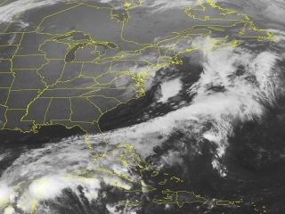 Nor'easter Pushes Heavy Rain, High Winds Toward New England