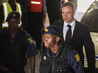 Tired, Tense: Pistorius Survives First Night of Five-Year Jail Term