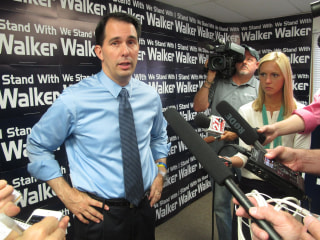 In Wisconsin, Walker Could Become a Leading 2016 Candidate or an Also-Ran