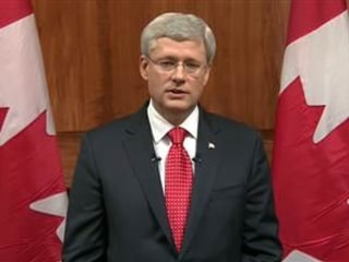 Canadian Prime Minister Harper Calls Ottawa Gunman a 'Terrorist'