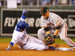 FOLLOW LIVE: Giants vs. Royals in World Series