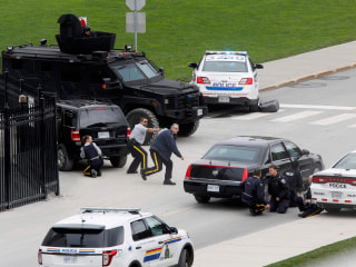 Who Is the Canadian Parliament Shooter?