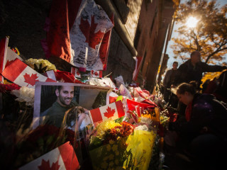 Slain Canadian Soldier Takes 'Highway of Heroes' Home