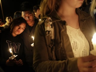 Marysville Comes Together at Vigil After School Shooting