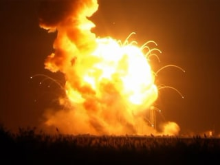 Orbital and Virginia at Odds Over Bill for Antares Rocket Blast