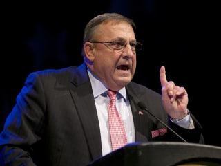 Maine Gov. LePage Apologizes For Leaving Lawmaker Vile Voicemail