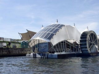 Solar-Powered Water Wheel is Cleaning Baltimore's Inner Harbor