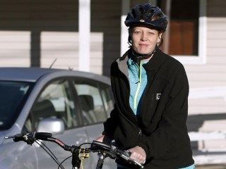Kaci Hickox, Nurse in Ebola Quarantine Standoff, Goes for a Bike Ride