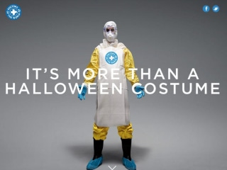 Don't Wear An Ebola Costume, Donate One, New Campaign Says