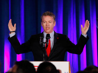 Rand Paul Mocks Hillary Clinton in Possible Preview of 2016 Fight