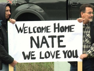 Marysville Shooting Victim Nate Hatch Welcomed Home From Hospital