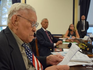 99-Year-Old WWII Veteran Seeks Response Over Denied Benefits