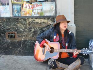 Margaret Cho Busks to Raise Money for San Francisco Homeless