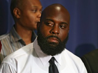 Michael Brown's Father Urges Calm, Calls for 'Positive Change'