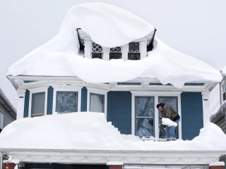 Fear Turns to Roofs and Flooding After Deadly Snowstorm in Buffalo, Western New York