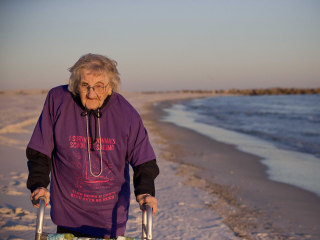 'Brought Tears to My Eyes': 100-Year-Old Sees Ocean for First Time