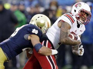 Brindza's Late Miss Sinks Notre Dame's Comeback vs. Louisville