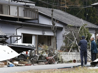 37 Homes Collapse, Dozens Injured in Japan Quake