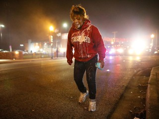 Ferguson Protesters React to Michael Brown Grand Jury Decision