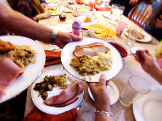 How Many Calories in a Thanksgiving Feast? One Family Finds Out