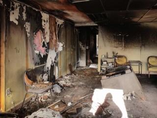 Michael Brown Sr.'s Church Burned in Ferguson