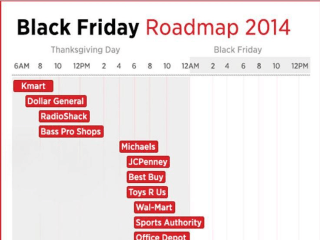 Here's Your Cheat Sheet for Black Friday Store Openings