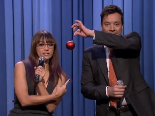 Fallon, Rashida Jones Parody Pop Hits in Holiday Medley