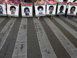 Some Parents Of Missing Mexican Students Ask Gang Leader For Help