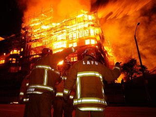 Massive Downtown Los Angeles Da Vinci Fire Was Arson
