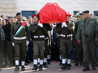 Funeral for Palestinian Government Minister