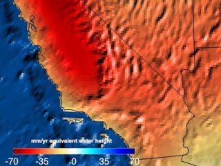 California Needs 11 Trillion Gallons of Water to End Drought: NASA