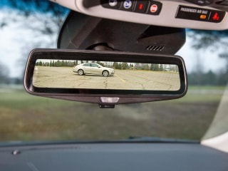 High-Tech Car Puts Blind Spots in the Rear View