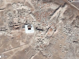 Satellite Images Show Widespread Looting At Syrian Landmarks