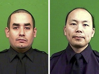 New York Mourns Cops Who 'Paid the Ultimate Sacrifice'
