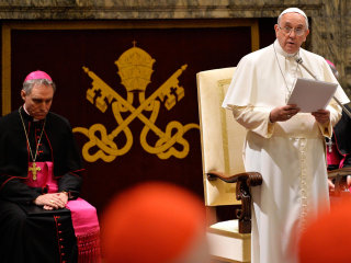 Pope Francis Issues Blistering Critique of Vatican Holy See